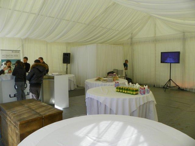 Мобильные шатры, прокат мебели Пермь